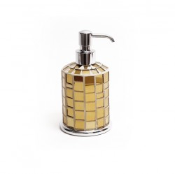 Dispenser serie Corinto a mosaico gold